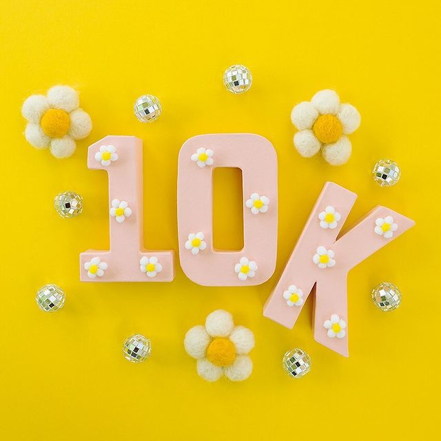 10k Followers on Instagram