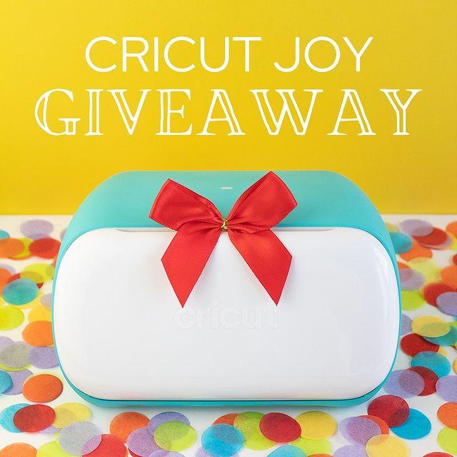 Cricut Giveaway!
