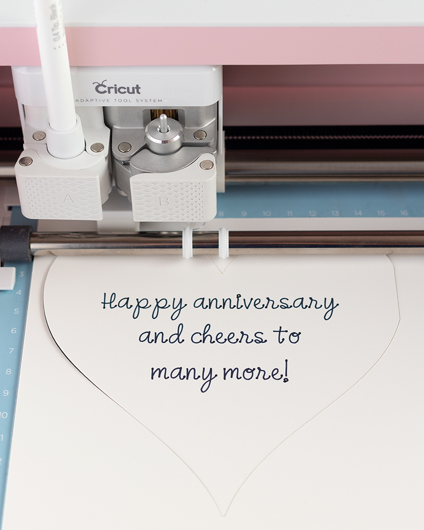 Cricut Maker writing