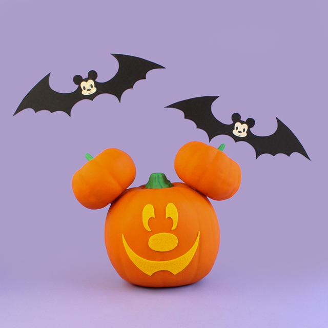 DIY Mickey Pumpkin