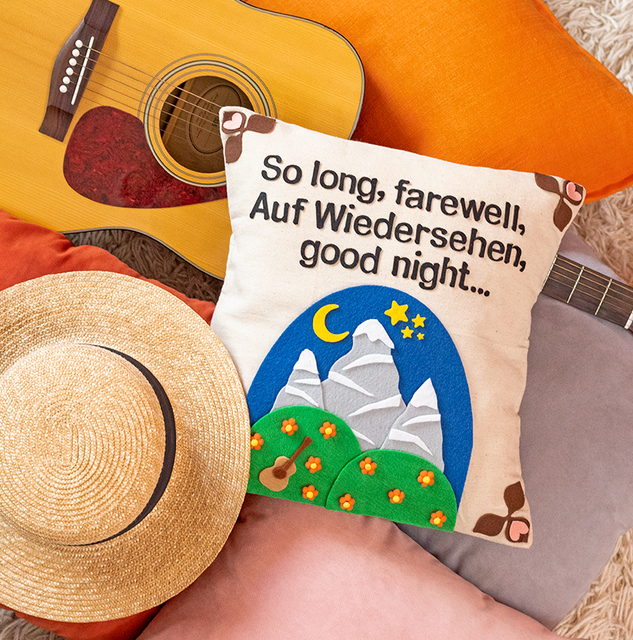 DIY: The Sound of Music - Inspired Pillow
