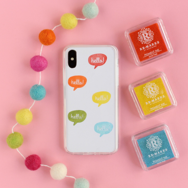 DIY Stamped Phone Cases - 3 Ways