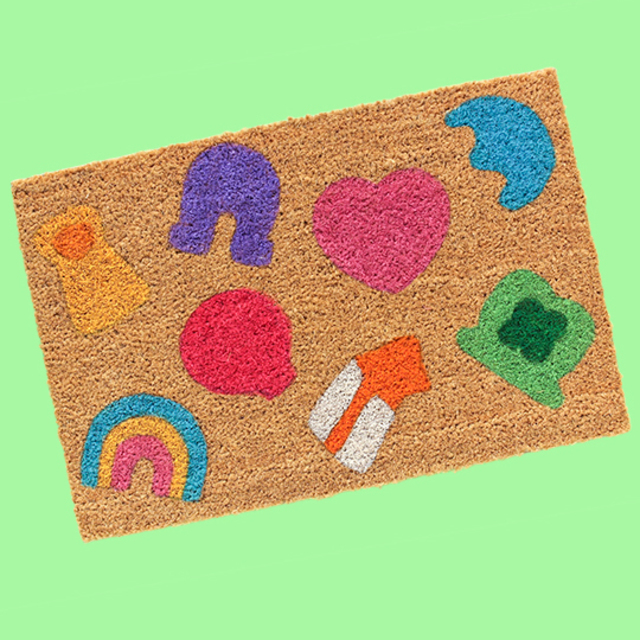 DIY Lucky Charms Doormat